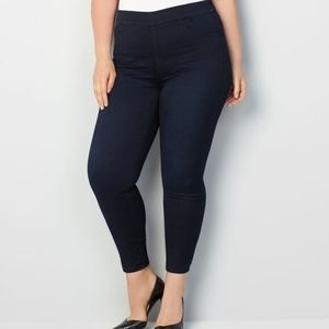 Avenue Butter Denim Pull on Jean in Rinse NWT